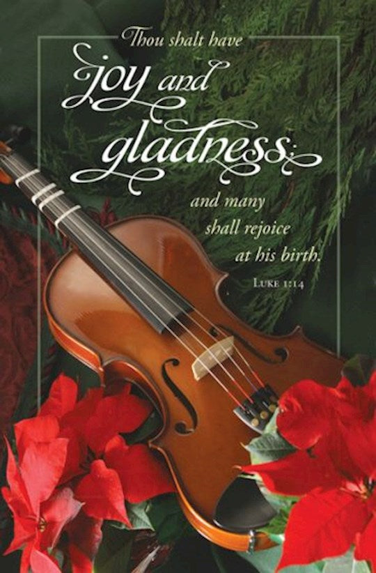Joy and Gladness Christmas Bulletins