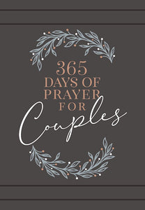 365 Days Of Prayer For Couples -Faux Leather -  Daily Prayer Devotional