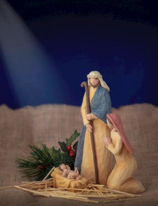 Nativity Set-3 Piece Holy Family