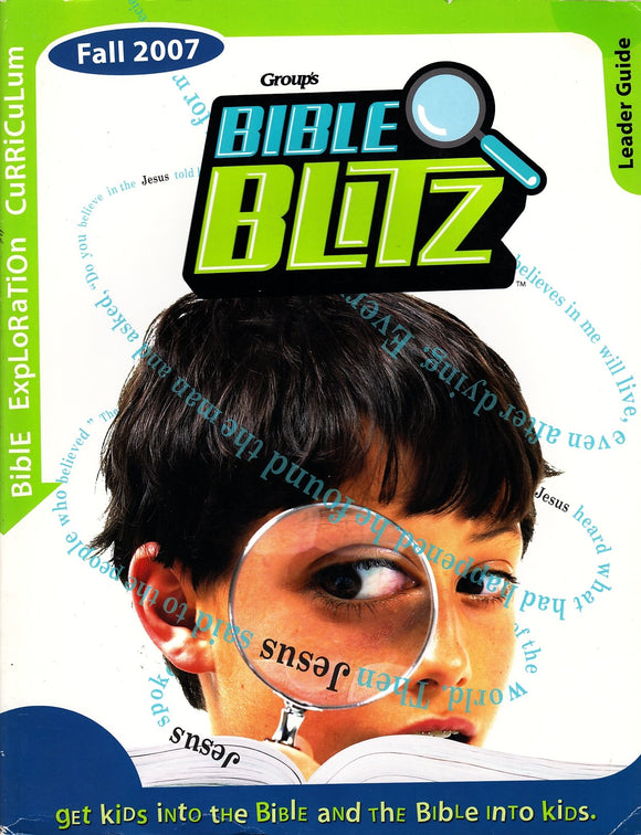 Group's Bible Blitz - Bible Exploration Curriculum