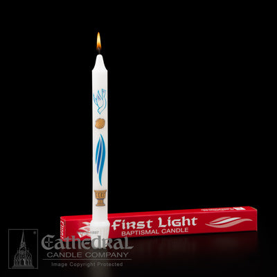 Cathedral Baptismal Candle