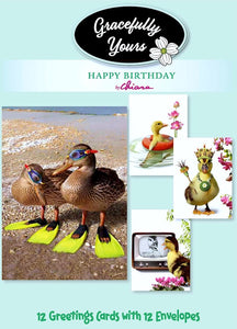 Just Ducky Birthday Cards