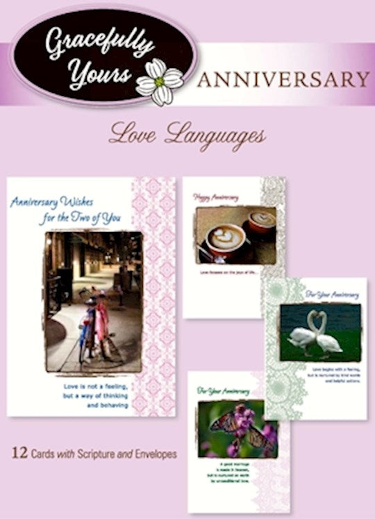 Love Languages Anniversary Cards