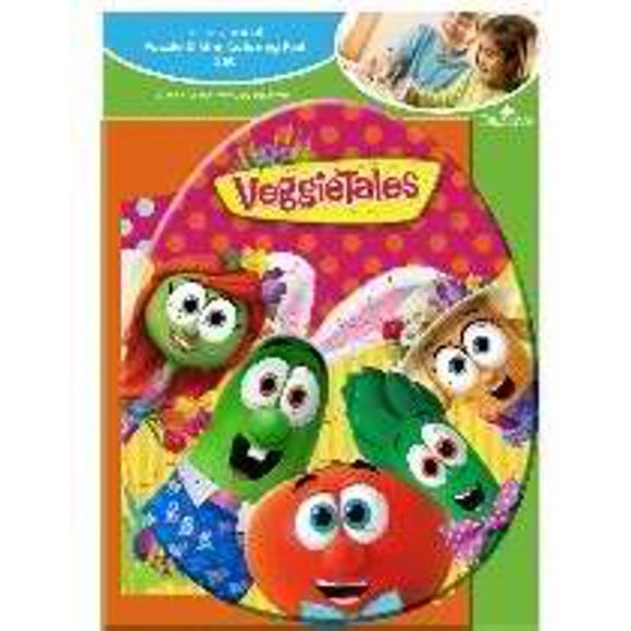 VeggieTales Easter puzzle and mini colouring pad Set