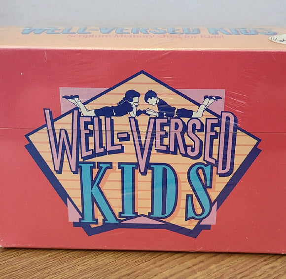 Well-Versed Kids - Scripture Memory Just for Kids!