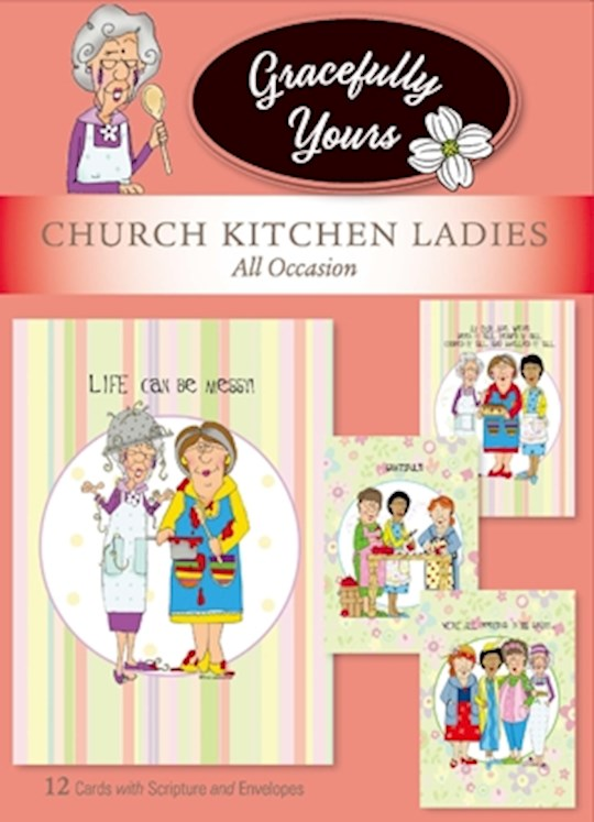 Church Kitchen Ladies All Occasion Cards
