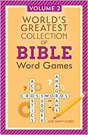 World's Greatest Collection of Bible Word Games: Volume 2