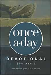 Once a-Day Devotional - for Teens