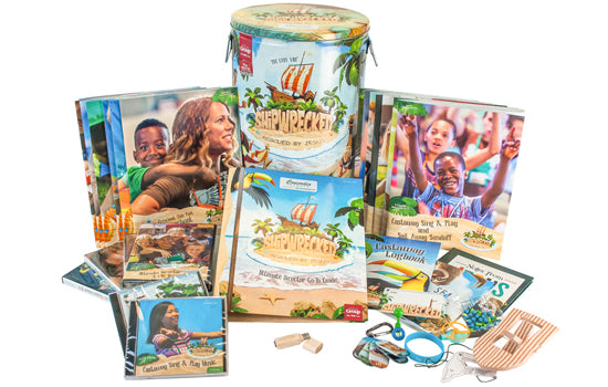 Shipwrecked VBS Rescued by Jesus Kit