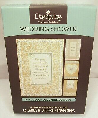 Wedding Shower cards from DaySpring