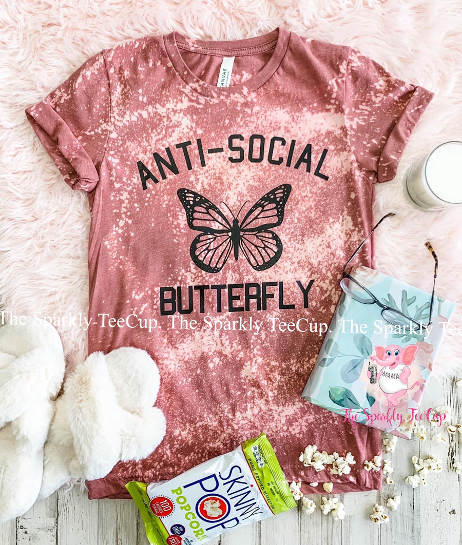Anti-Social Butterfly Distressed