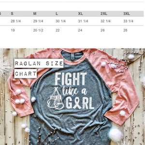Fight Like A Girl Raglan