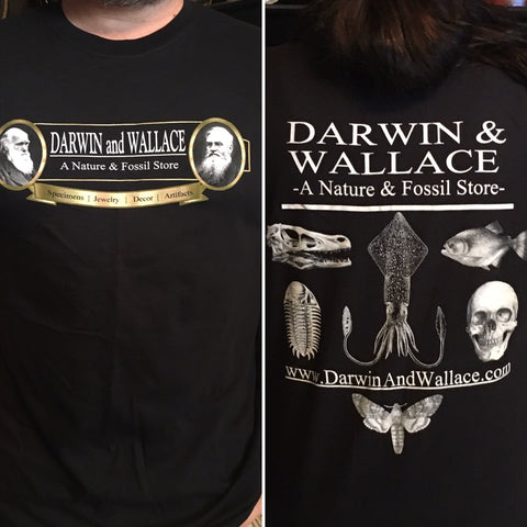 Darwin and Wallace T-shirt