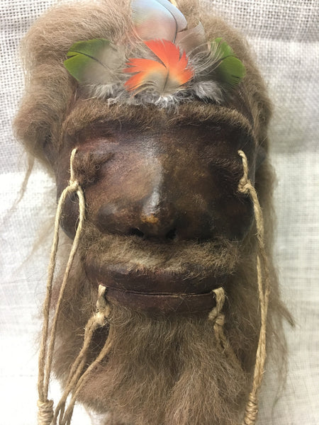 "Shrunken Head ""Tsantsa"" Replica - #SH1"