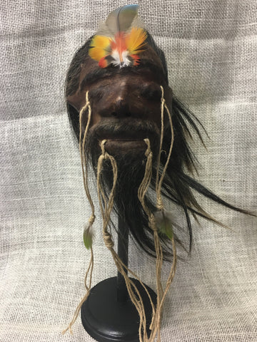 "Shrunken Head ""Tsantsa"" Replica - #SH2"