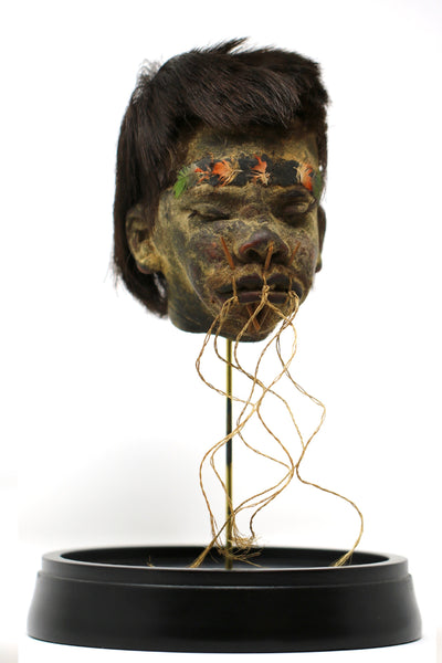 "Authentic Shrunken Head ""Tsantsa"""