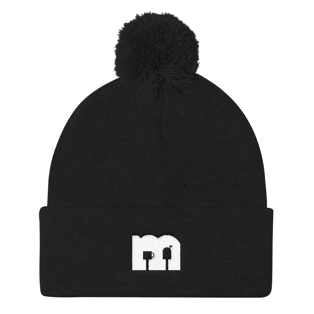 Mailbox Coffee - Pom Pom Knit Cap