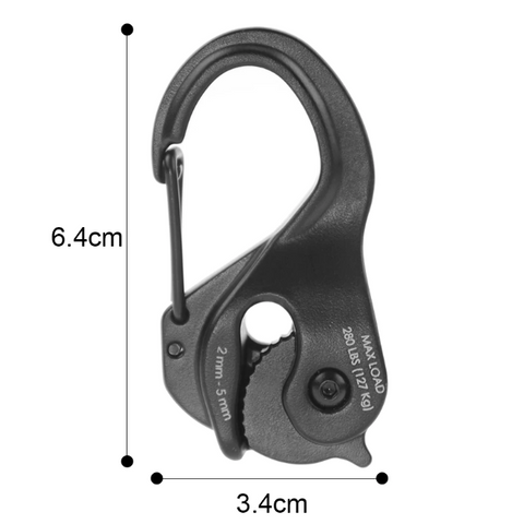 Cord Tight - Knot-Free Cord Tightening Carabiner