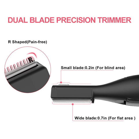 Electric Hair Trimmer - Micro Trim Razor