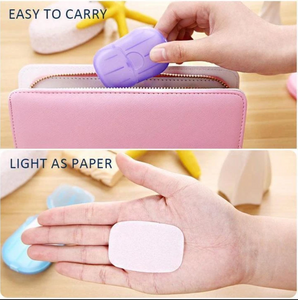 PaperWash - Portable Disinfecting Paper Soap Strips