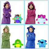 Hoodie Pets - Convertible Plush Pet Hoodies