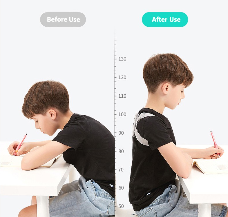 SmartBack - Intelligent Posture Corrector With Smart Sensor