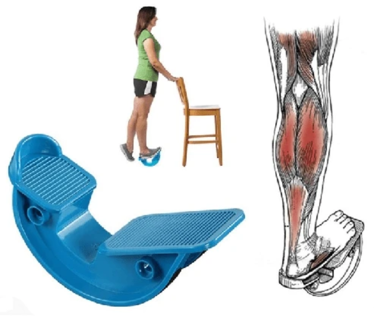 FootRock - Calf, Ankle & Plantar Muscle Stretch Board