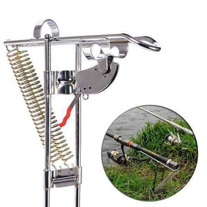 Auto Catcher - Spring Fishing Rod Holder