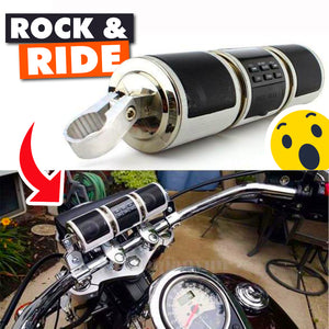 Ride Rocker - Bluetooth Wireless Motorcycle Speaker