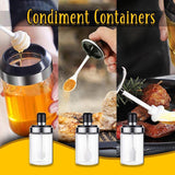 Practical Sealed Condiment Containers