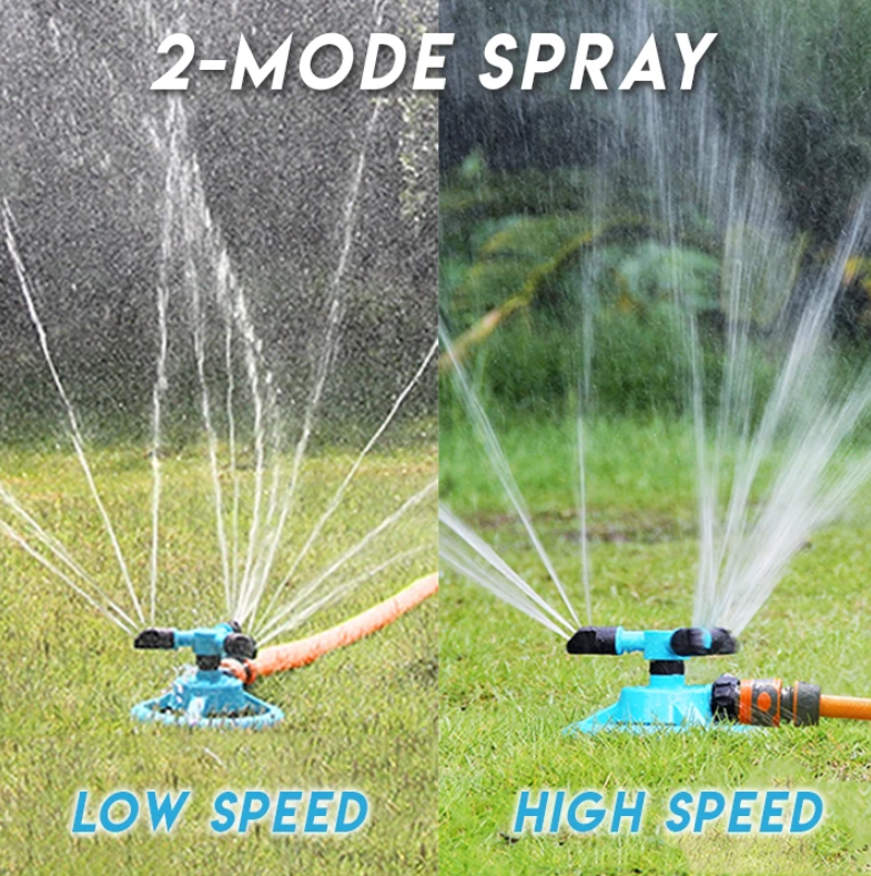 AquaLawn - Automatic 360° Rotating Garden Sprinkler