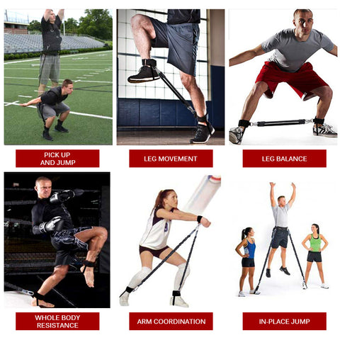 Multi-Sport Jump, Speed & Strength Builder Bounce Trainer