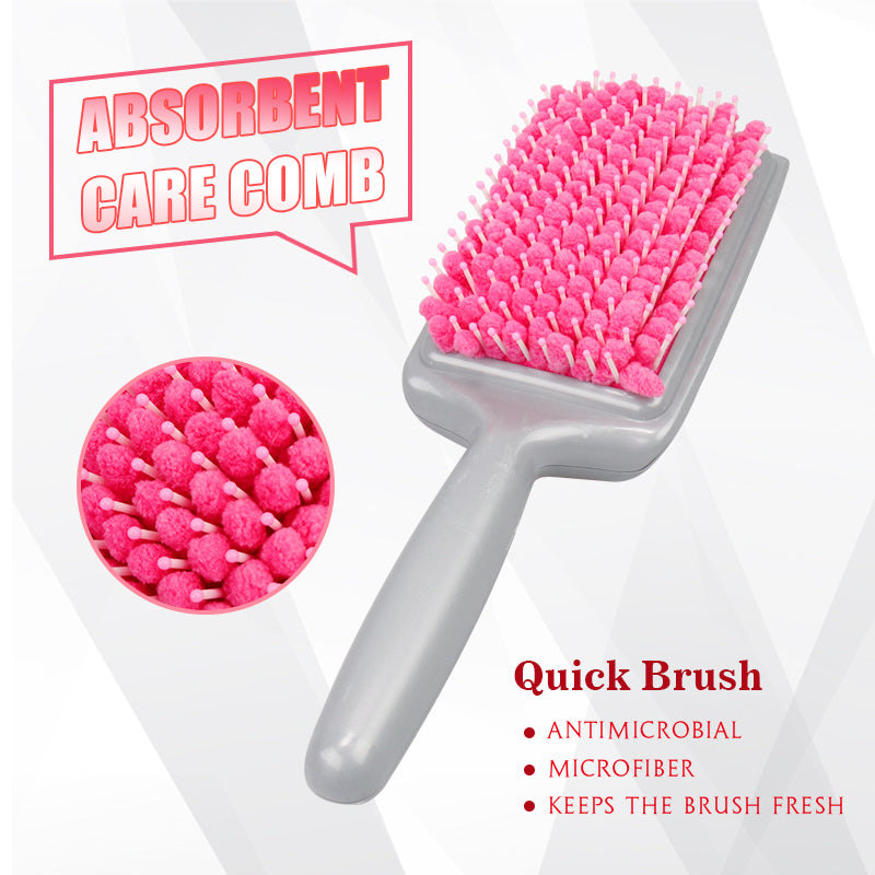 TowelComb - Quick Style Water Absorbent Paddle Brush