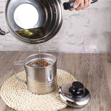 Oil Saver - Stainless Steel Oil Filter Pot