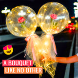 Lovalloon - Balloon With LED Lights Rose Bouquet