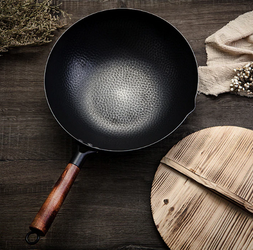Iron Wok Non-stick Pan