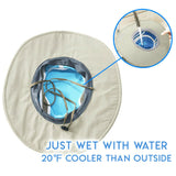 Chill & Shield - Hydro Cooling Heat Blocking Hat