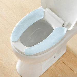 Toilet Cushion - Washable Self-Adhesive Toilet Seat Pad