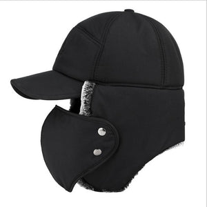 3 Way Thermal Fur Lined Trapper Bomber Hat
