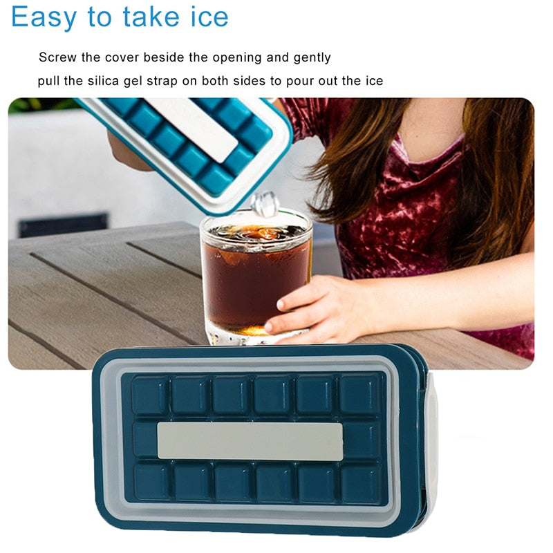 IcePopper - Easy Freeze and Pop Ice Cube Maker