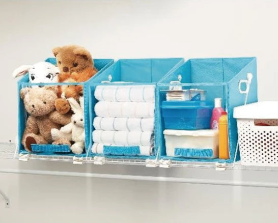 Closet Swing - Top Shelve Closet Caddy Storage Box