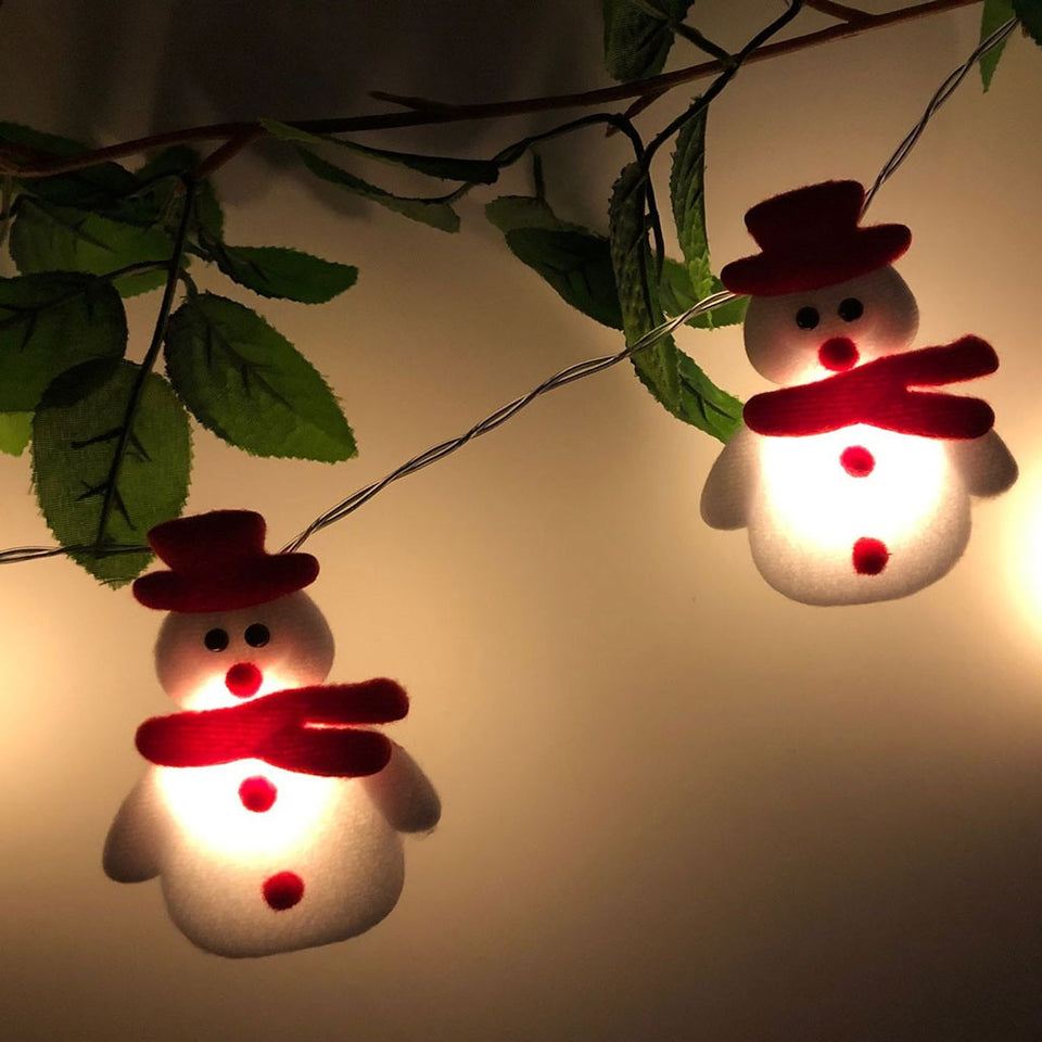 SnowLights - Snowmen LED Christmas String Lights