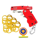FoldSlingo - Folding Rubber Band Gun Military Keychain