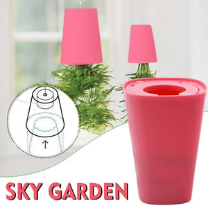 Sky Garden - Creative Upside Down Self Watering Sky Planting Pot