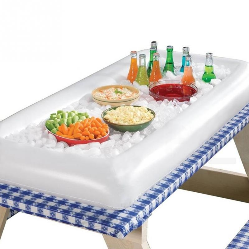 Inflatable Buffet and Salad Serving Bar