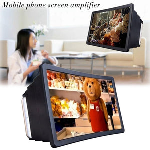 Mobile Phone 3D Screen Magnifier