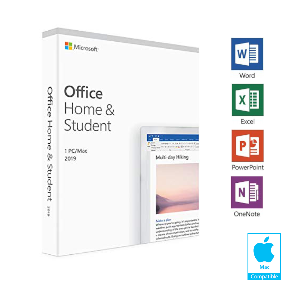 microsoft home and student for mac 2019