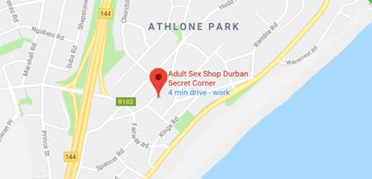 secret corner amanzimtoti durban - google map directions