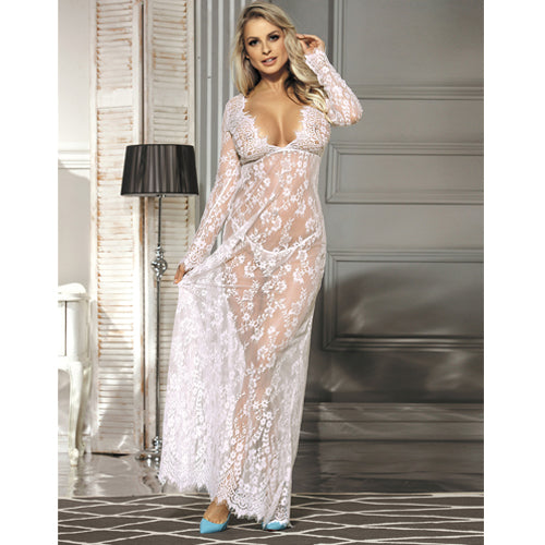 Long Lace Dress