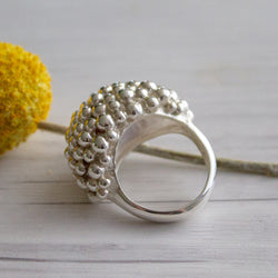 Cloud Sterling Silver Ring